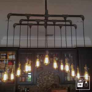diy-vintage-industrial-light-suspension-chandelier