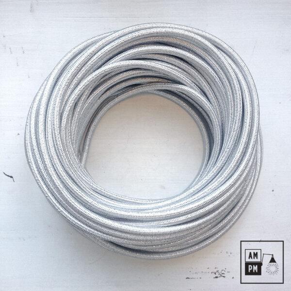 fil-electrique-recouvert-lin-colore-argent-brillant-1