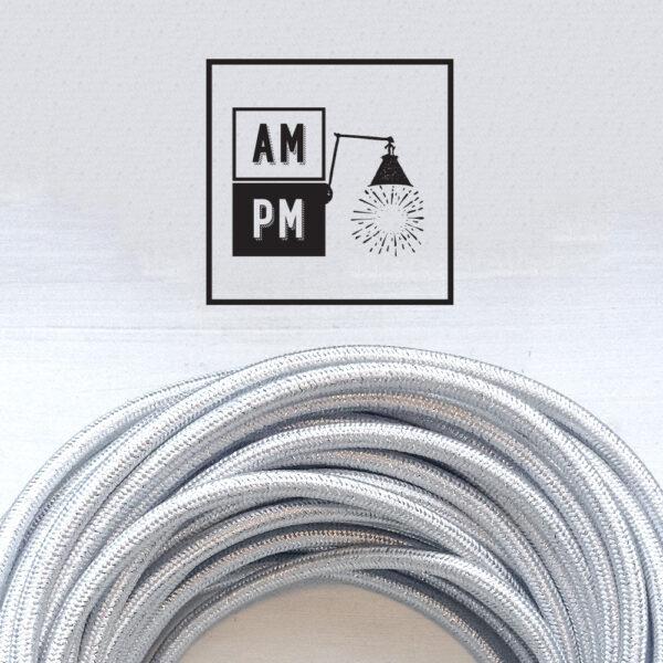 fil-electrique-recouvert-lin-colore-argent-brillant-2