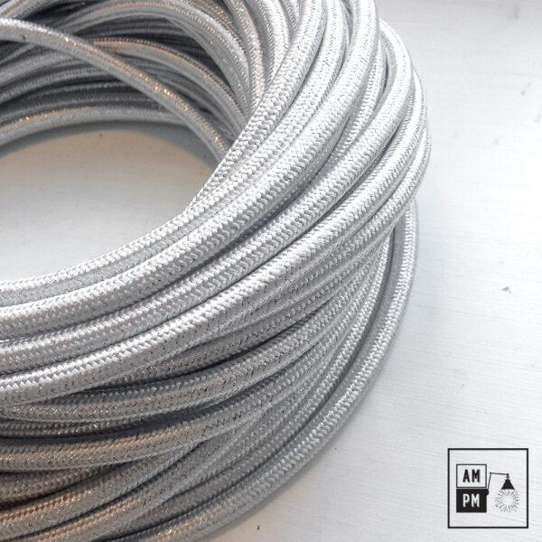 fil-electrique-recouvert-lin-colore-argent-brillant-3