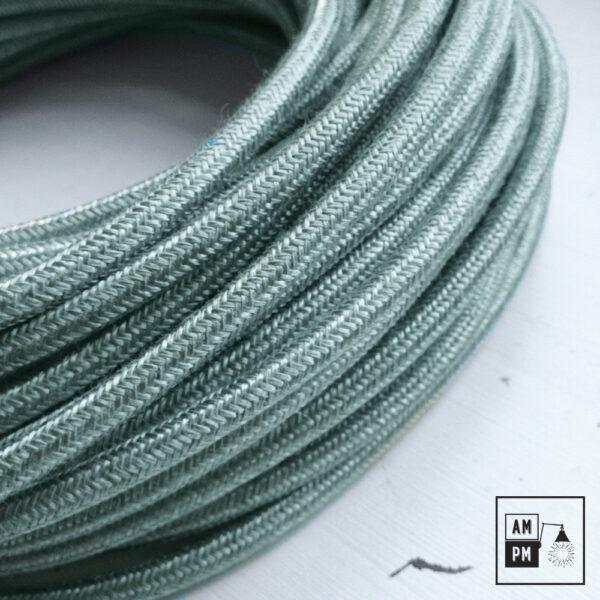 fil-electrique-recouvert-lin-colore-brume-brillant