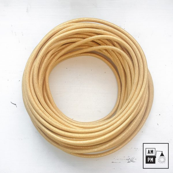 fil-electrique-recouvert-lin-colore-or-brillant-1
