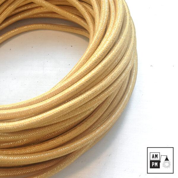 fil-electrique-recouvert-lin-colore-or-brillant-3