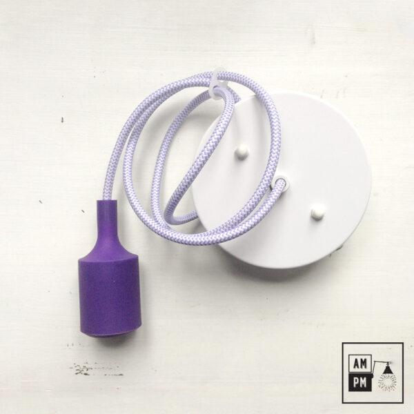 ensemble-culot-silicone-coloré-kit-plafonnier-zigzag-violet
