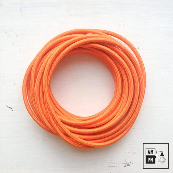 fil-electrique-recouvert-rayonne-coloree-orange-1