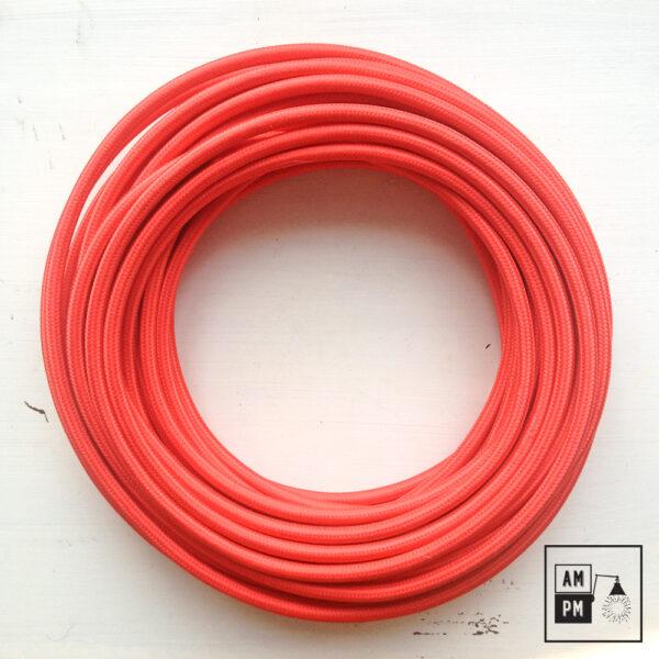fil-electrique-recouvert-rayonne-coloree-rouge-vif-1