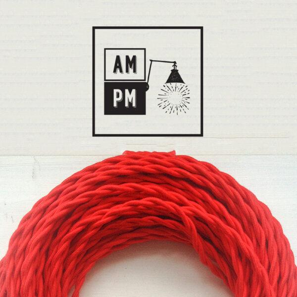 fil-electrique-torsade-recouvert-coton-colore-rouge-2