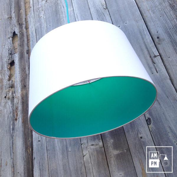 abat-jour-tissus-biseaute-blanc-turquoise-4