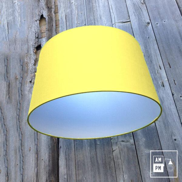 abat-jour-tissus-biseaute-jaune-4
