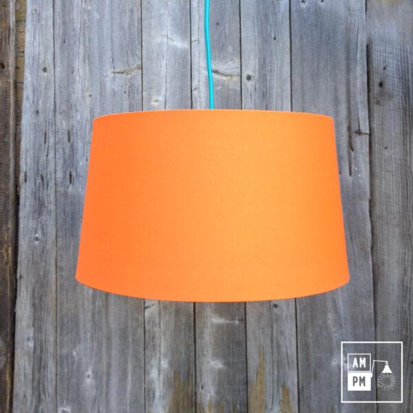abat-jour-tissus-biseaute-orange-3
