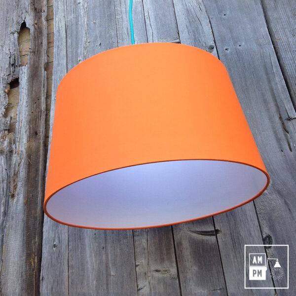abat-jour-tissus-biseaute-orange-4