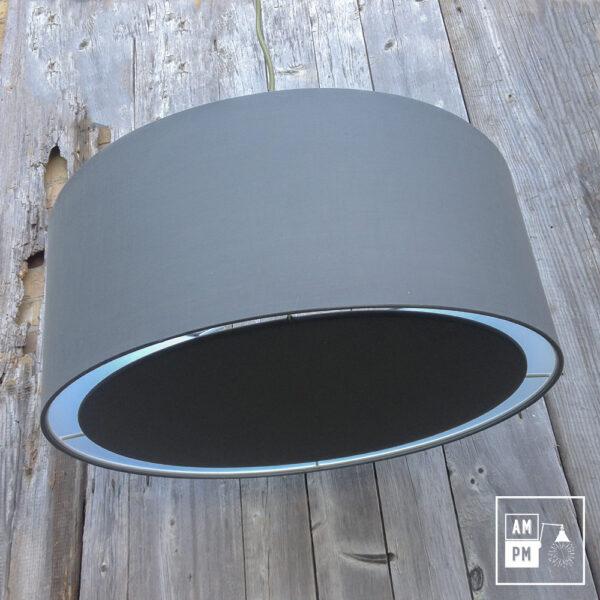 abat-jour-tissus-tambour-gris-4