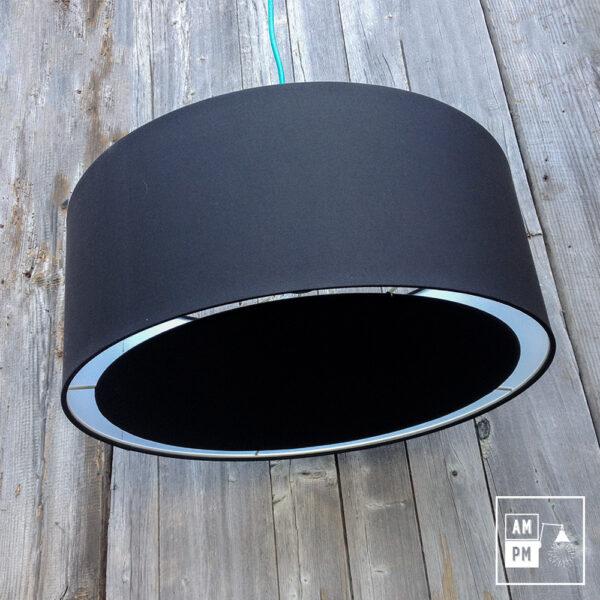 abat-jour-tissus-tambour-noir-4