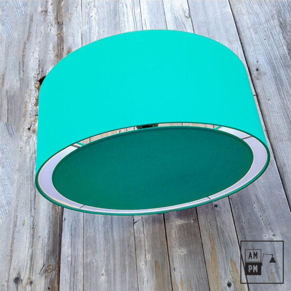 abat-jour-tissus-tambour-turquoise-4