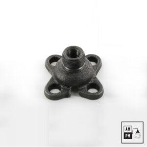 bride-conduit-0125-acier-noir