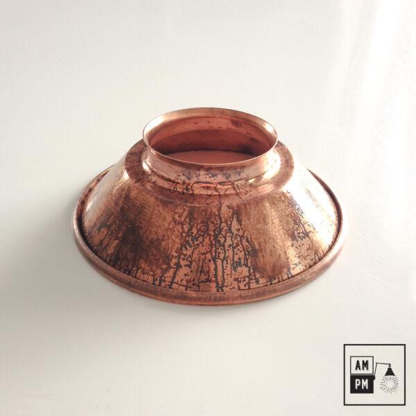 petit-abat-jour-cône-vintage-métal-biseauté-cuivre-2