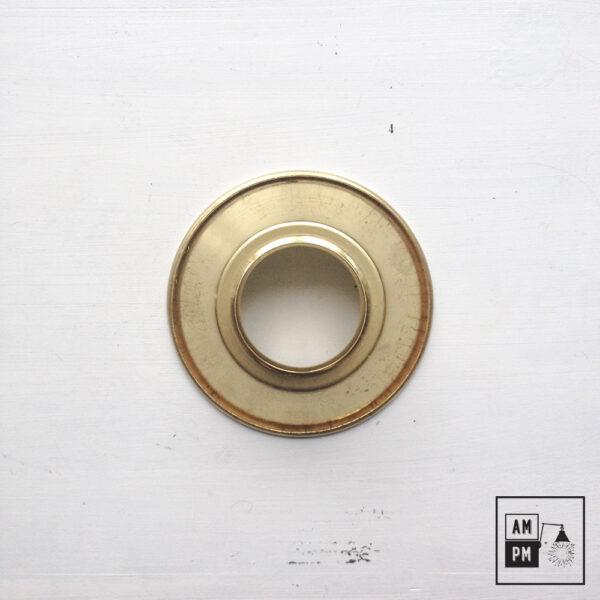 petit-abat-jour-cône-vintage-métal-biseauté-laiton-1
