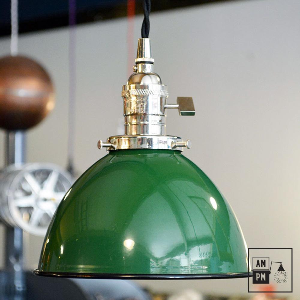 Abat jour metal dome industriel vert Résultat Supérieur 15 Beau Lampe Suspendue Industrielle Galerie 2017 Iqt4