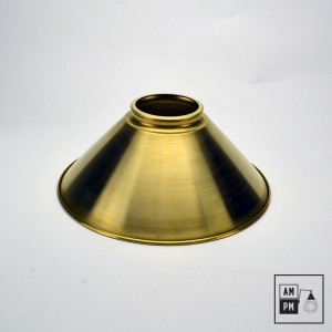 abat-jour-conique-metal-laiton