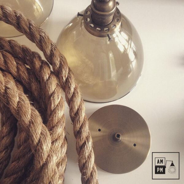 corde de bateau torsadée