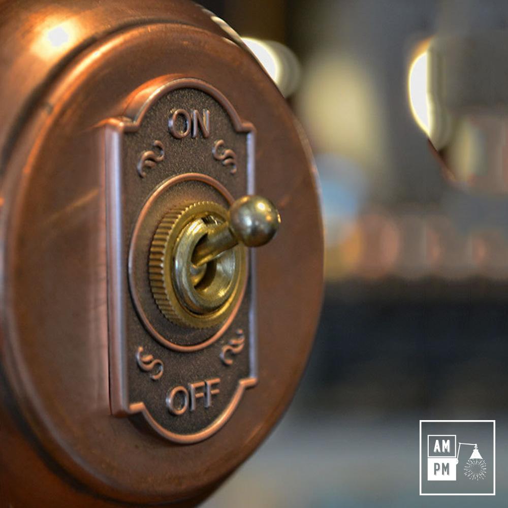 Interrupteur cuivre