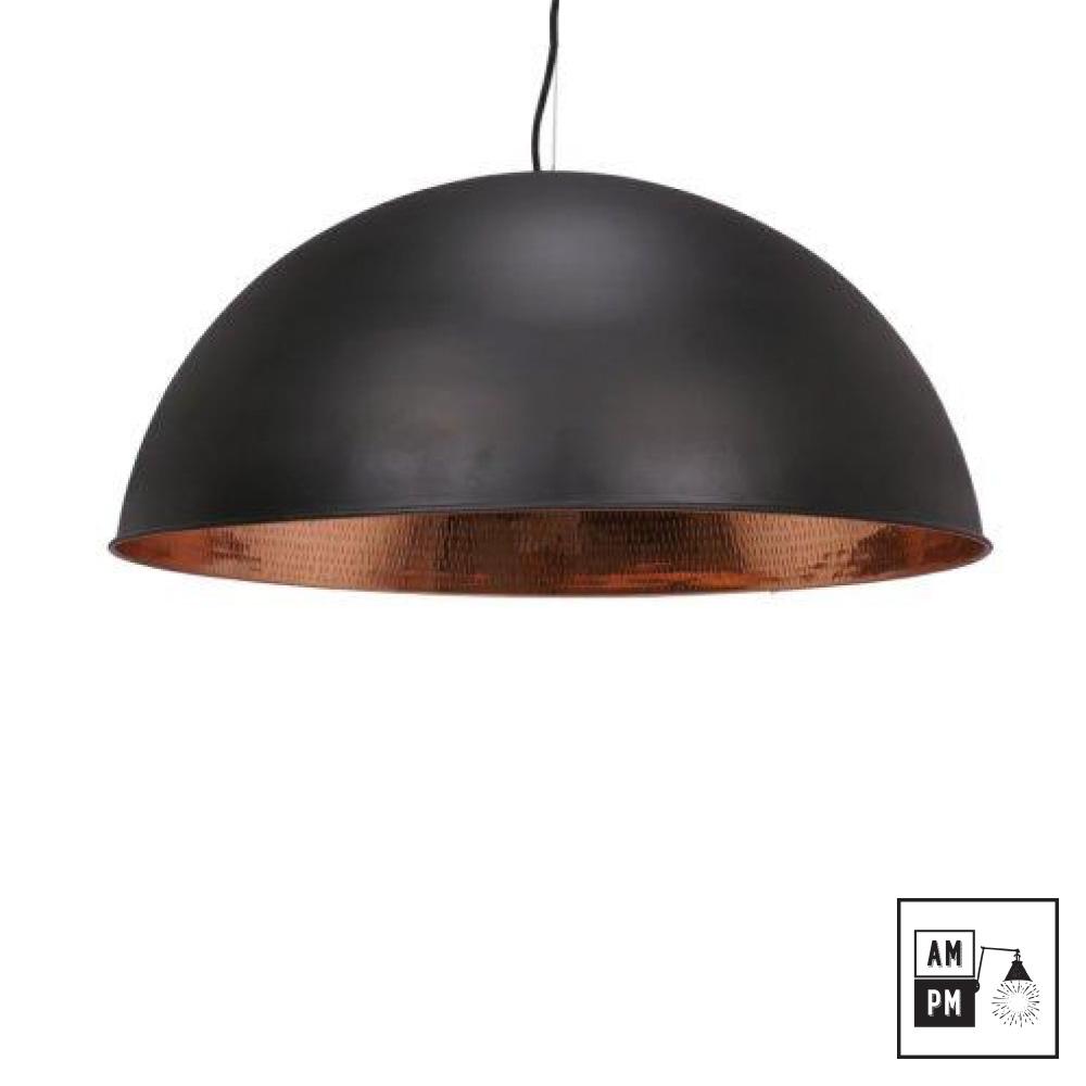 abat jour metal noir Abat-jour moderne en dôme (couleurs variées) - AM-PM -