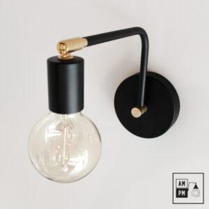 lampe-murale-moderne-noire-pivotante-A1M03