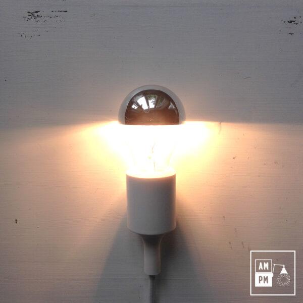 ampoule miroir chrome