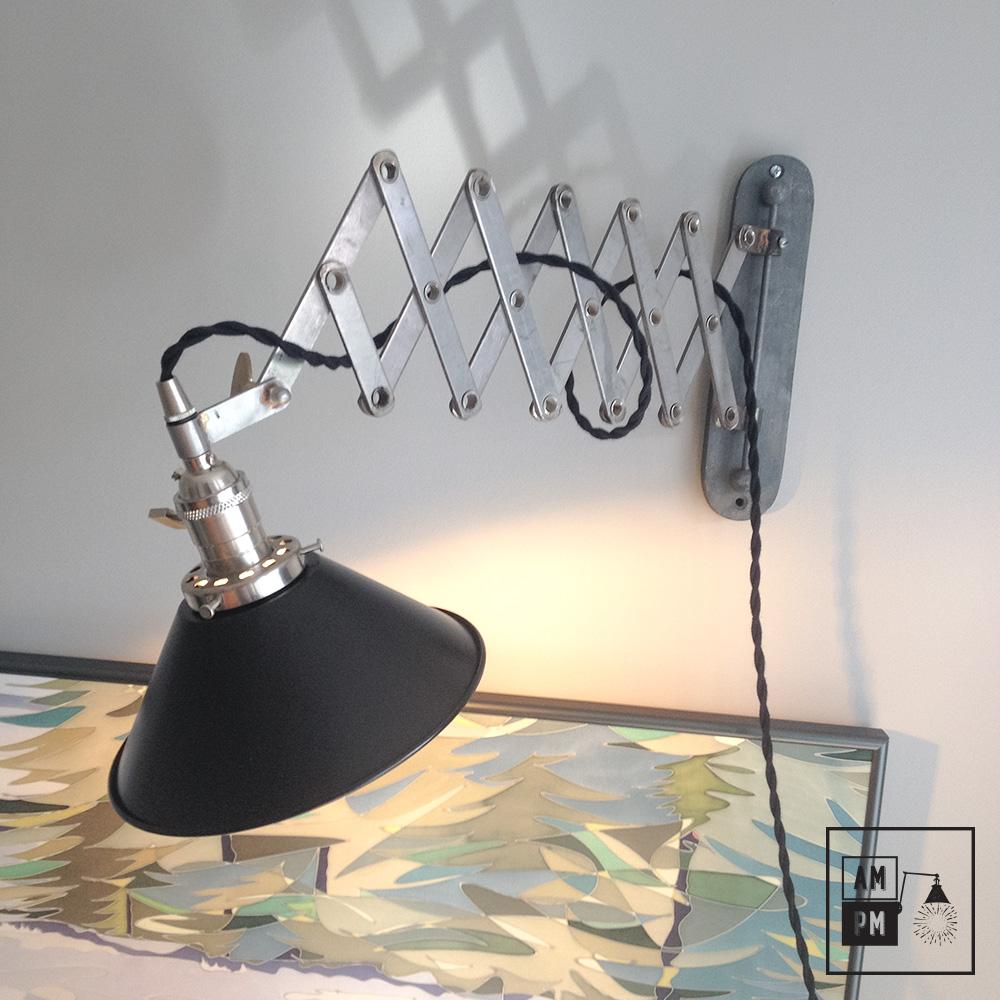 applique murale ciseau ajustable industrielle am pm. Black Bedroom Furniture Sets. Home Design Ideas