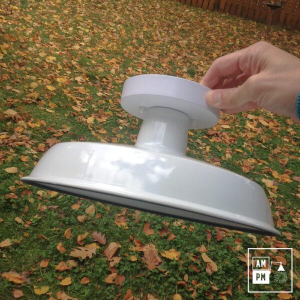 Luminaire plafonnier rustique blanc   A1C03