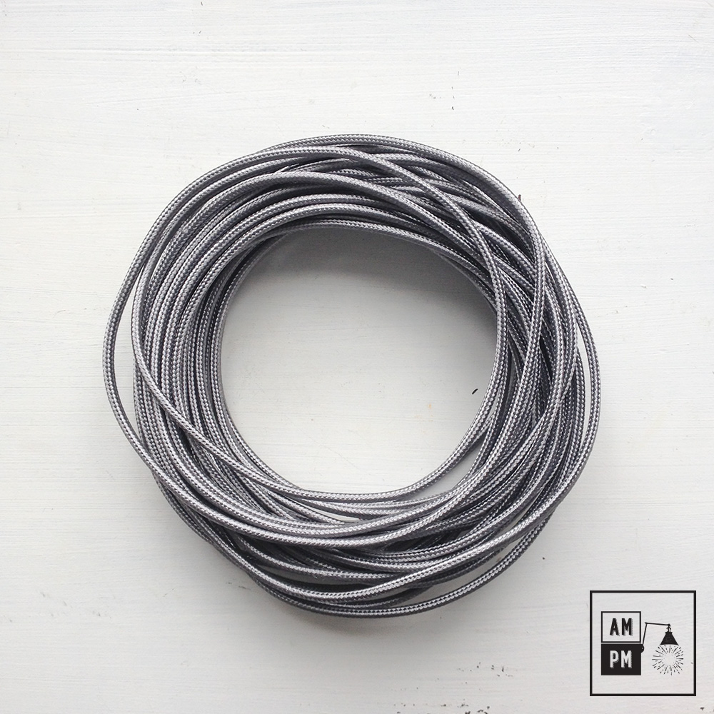 Fil électrique Plat Recouvert De Tissus Coloré Couleurs Variées