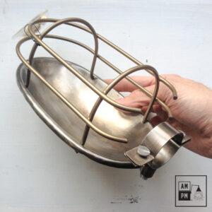 Cage industrielle ovale de type baladeuse