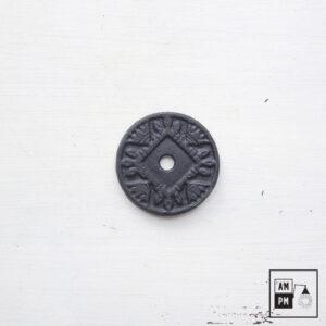 Insert décoratif en fonte d'acier