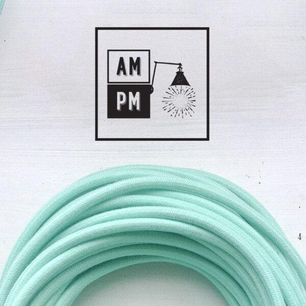 fil-electrique-recouvert-coton-colore-menthe-chinoise-2