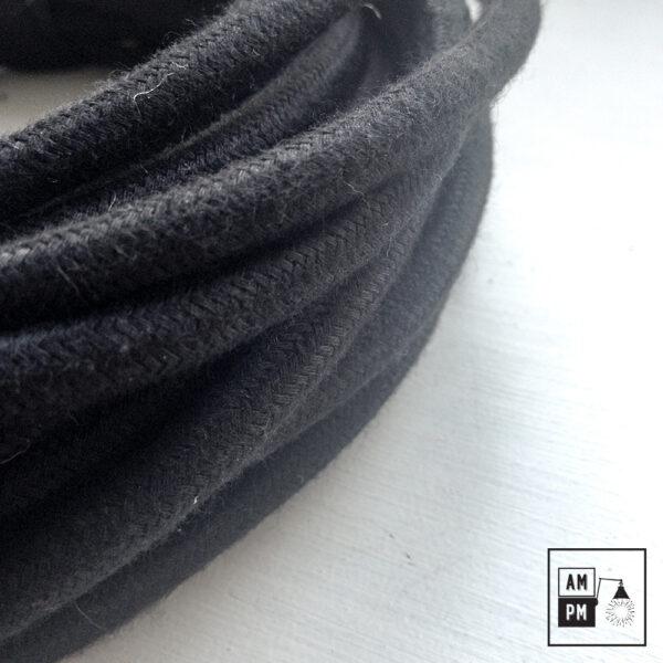 fil-electrique-recouvert-coton-colore-noir-3