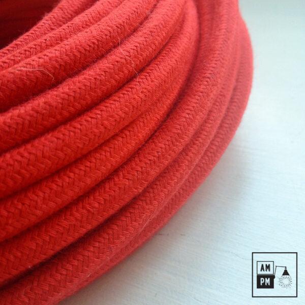 fil-electrique-recouvert-coton-colore-rouge-vif-3