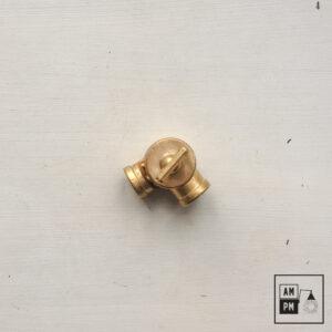 raccord-pivotant-bouton-rectangulaire-laiton