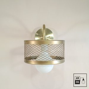 lampe-murale-klimt-collection-mid-century-laiton-cage-grillage-A3K01-1