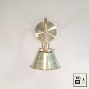 lampe-murale-klimt-collection-mid-century-laiton-cone-A3K21