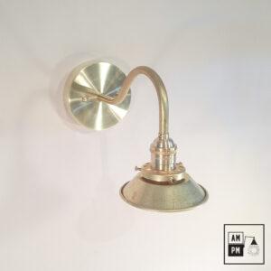 lampe-murale-klimt-collection-mid-century-laiton-mini-cone-A3K25