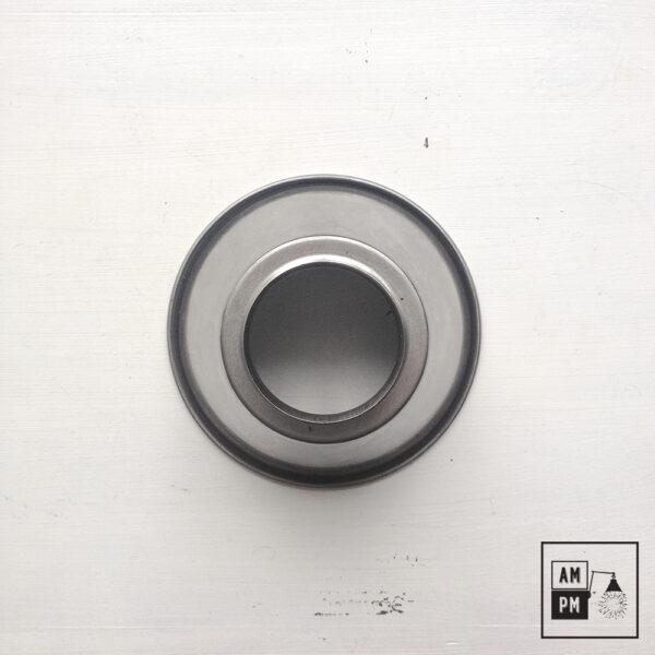 moyen-abat-jour-cône-vintage-métal-biseauté-acier-2