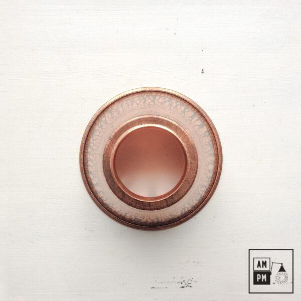moyen-abat-jour-cône-vintage-métal-biseauté-cuivre-2