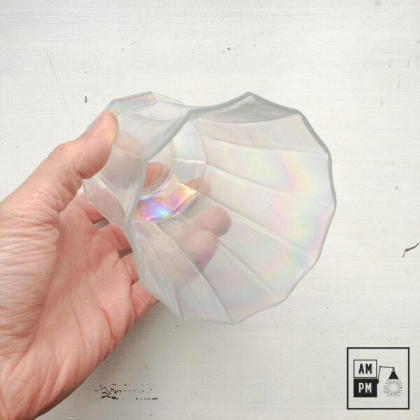 abat-jour-vintage-dodécagonal-verre-irridescent-2