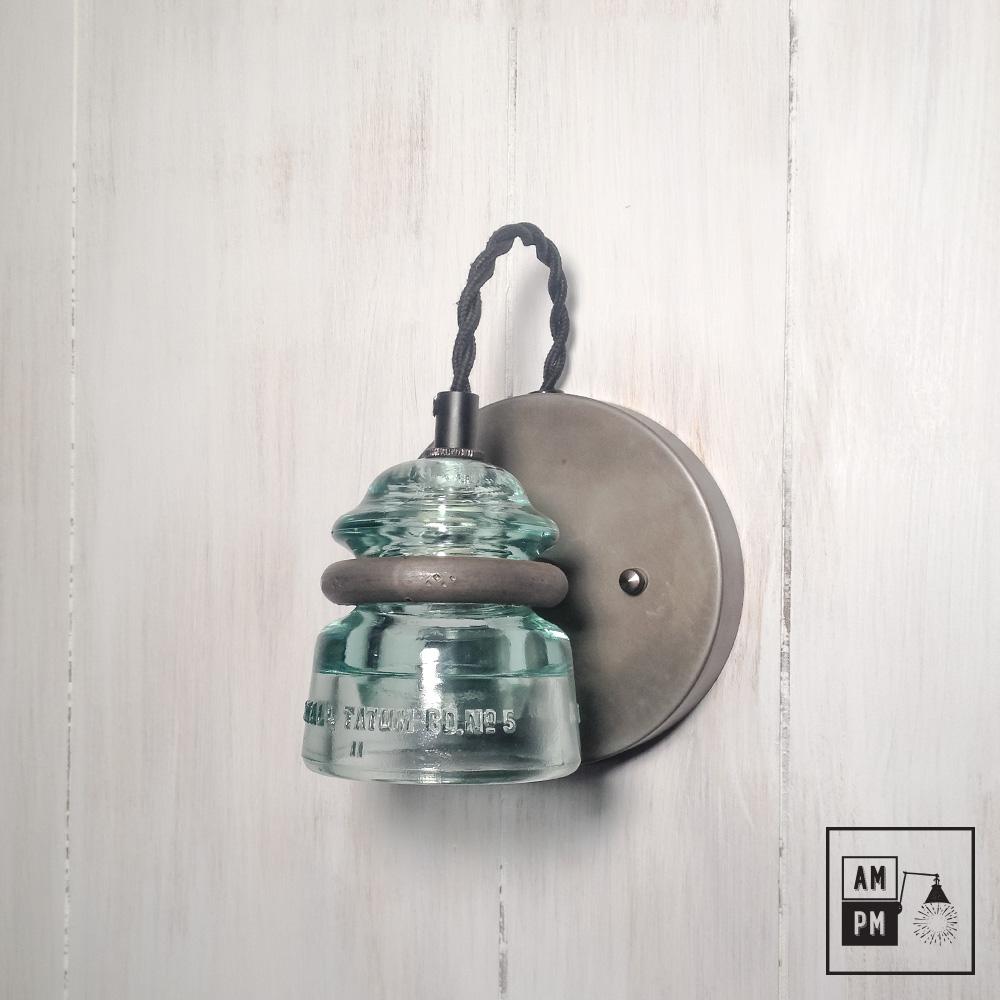 applique murale avec isolateur antique recycl a3m37 am pm. Black Bedroom Furniture Sets. Home Design Ideas