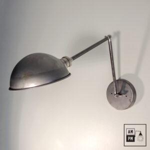 lampe-murale-industrielle-articulee-antique-acier-parabolique-nickel-A1P02-1