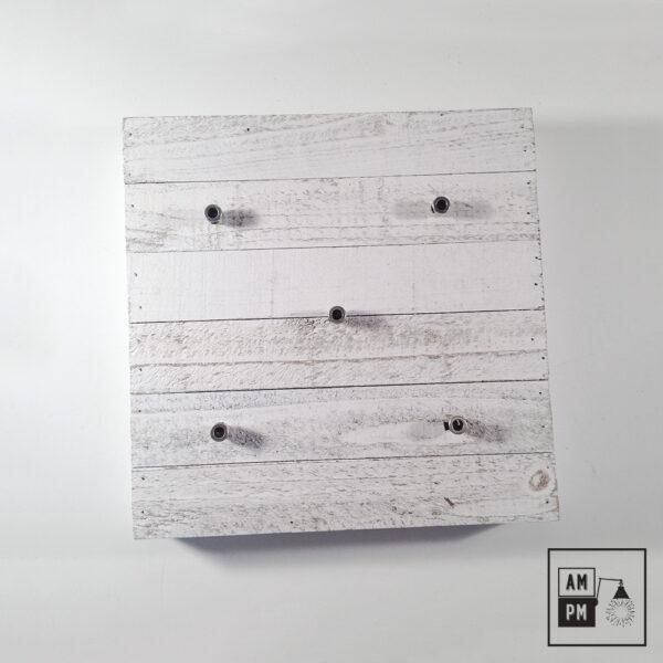 plafonnier-bois-recyclé-sur-mesure-blanc-5-sorties