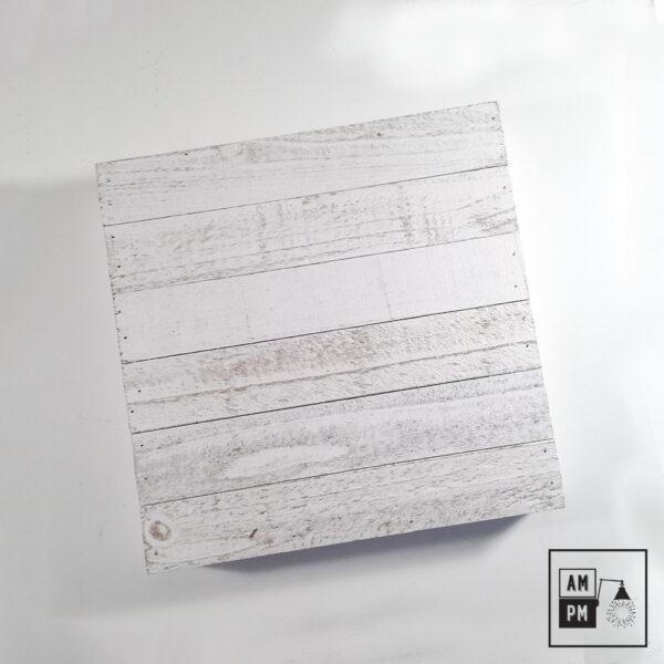plafonnier-bois-recyclé-sur-mesure-blanc