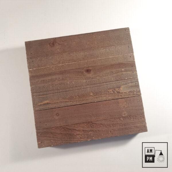 plafonnier-bois-recyclé-sur-mesure-brun