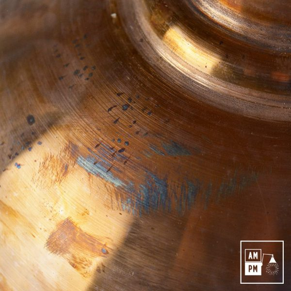 Abat-jour moderno-antique-cuivre-1