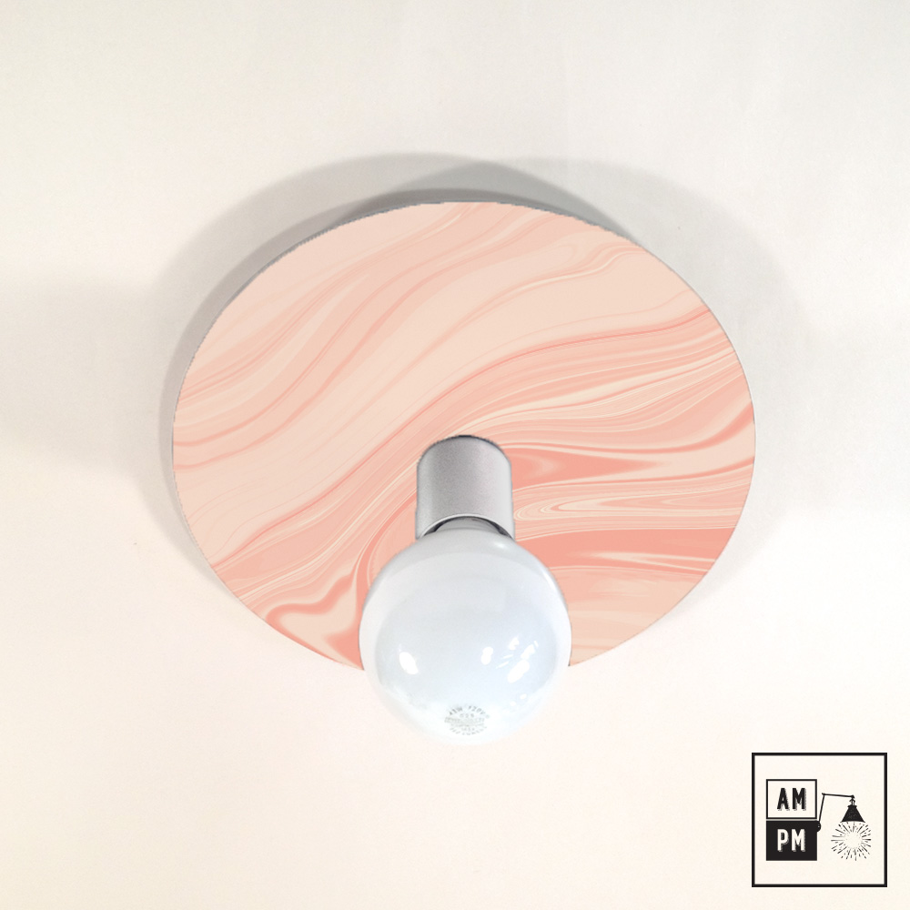 lampe plafonnier murale avec impression personnalis e. Black Bedroom Furniture Sets. Home Design Ideas